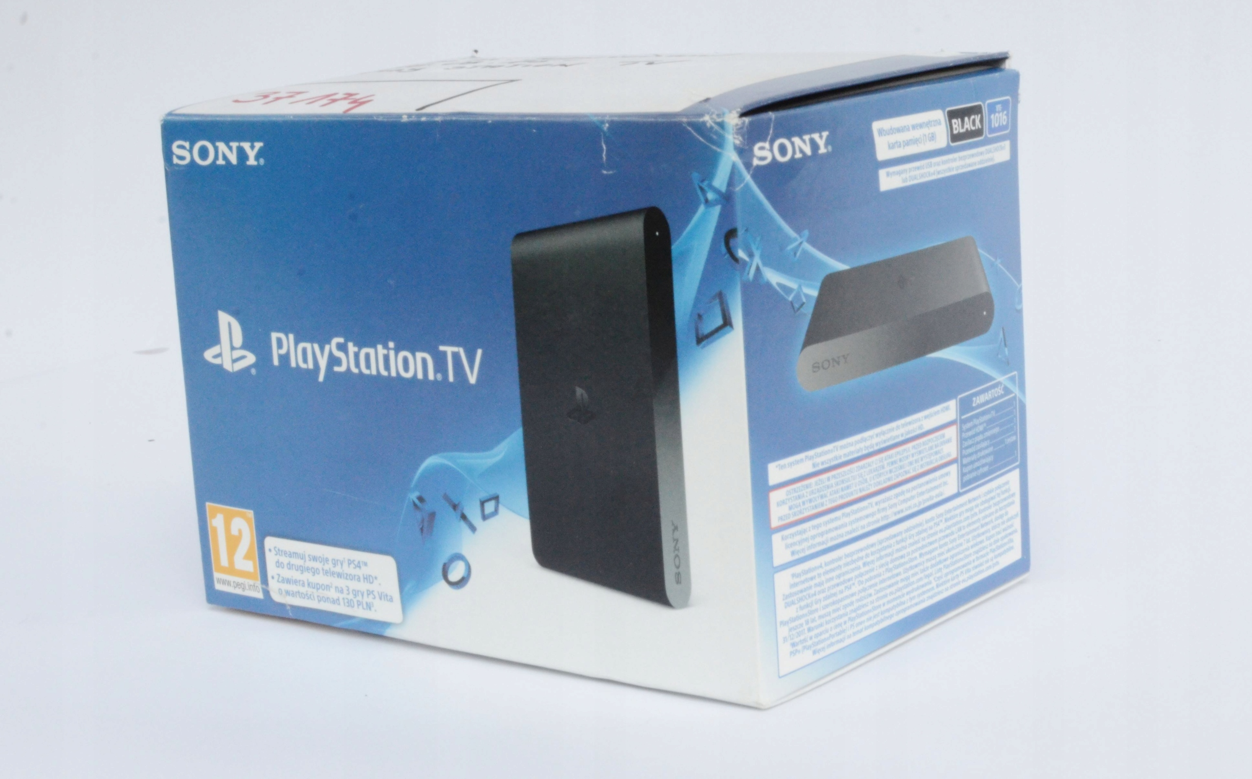 Konsola Sony Playstation TV + 3 pełne wer gier NEW