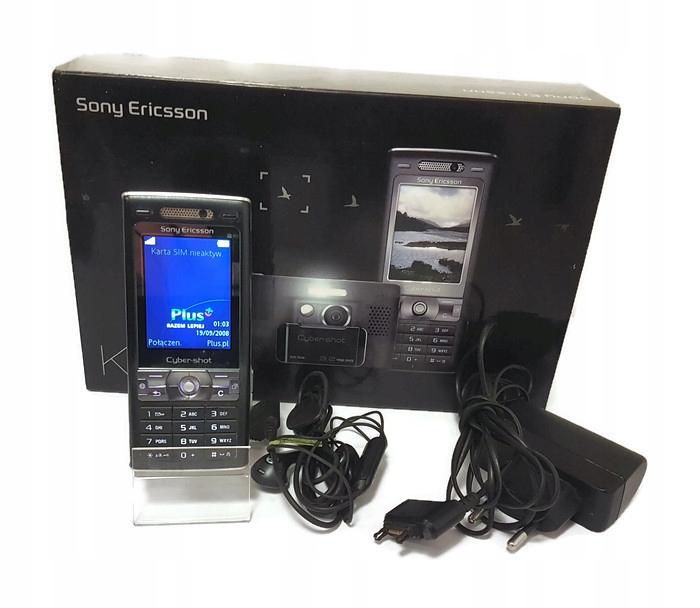 Sony Ericsson K800i komplet