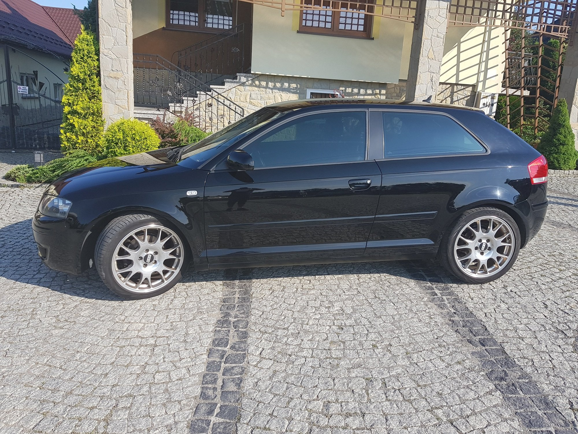 audi a3 8p 2004 1 9 tdi bkc xenon pdc navi 18 bbs. Black Bedroom Furniture Sets. Home Design Ideas