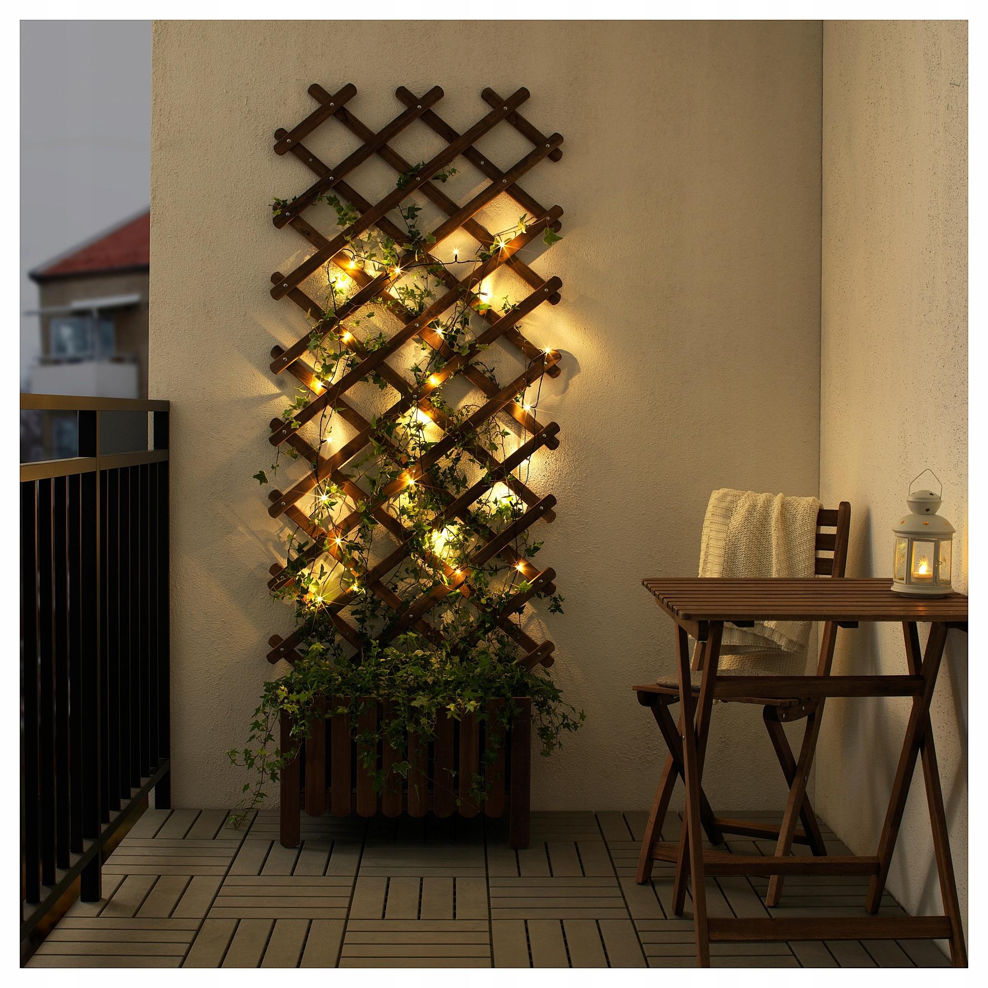 Ikea Ledljus Lampki Zewnętrzne Led 24 święta 7675701783