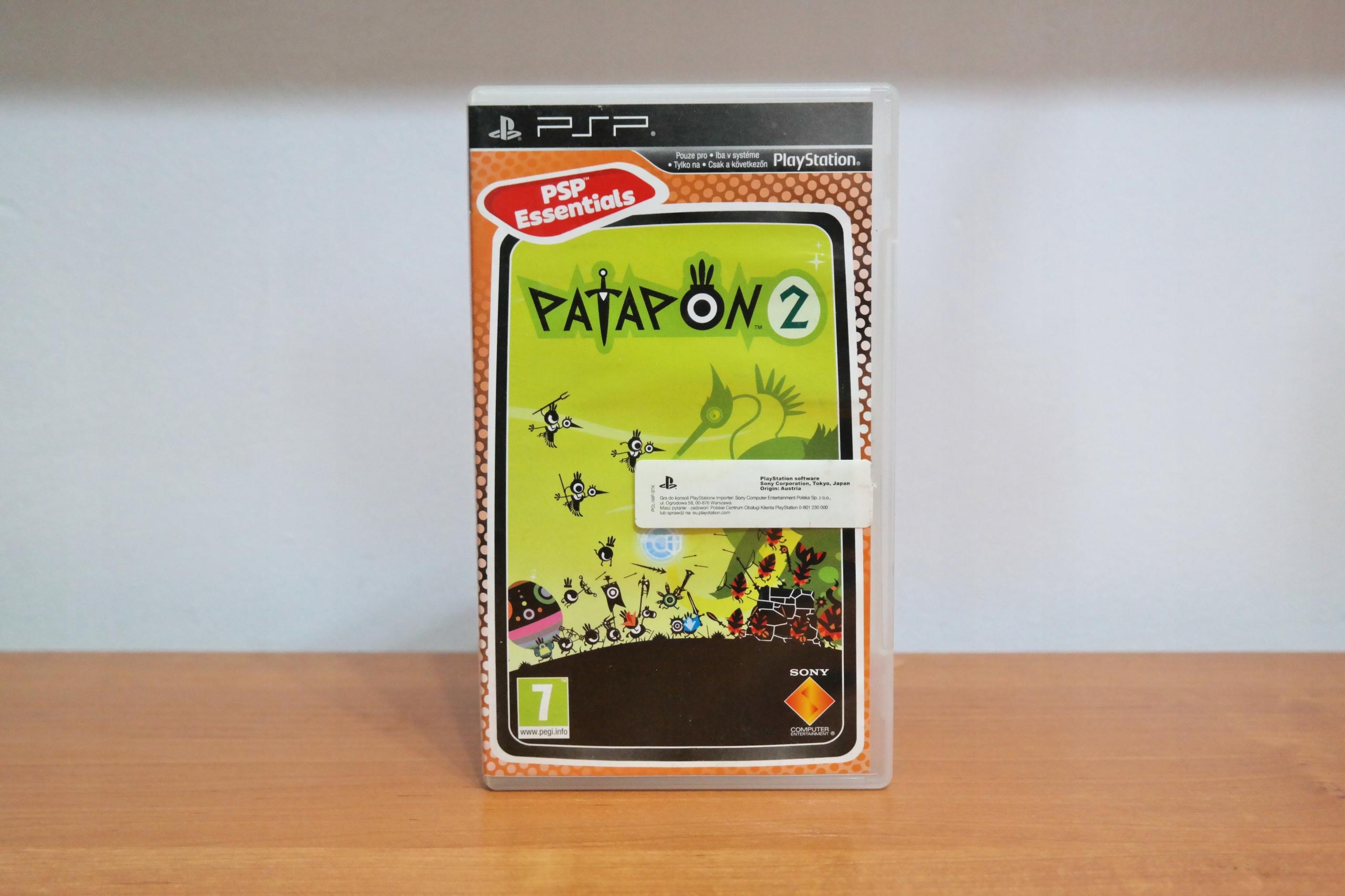 Gra PSP Patapon 2