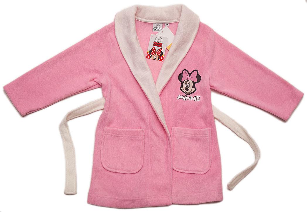 399d00e43e52f2 Minnie DISNEY Szlafrok dziewczęcy dla dziecka *128 - 7207121714 ...