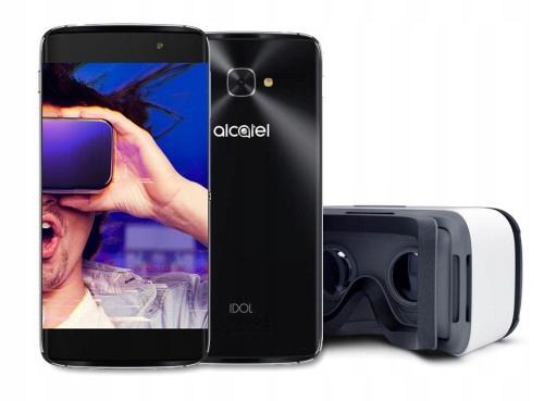 Alcatel IDOL 4S Szary 3/32 + okulary VR
