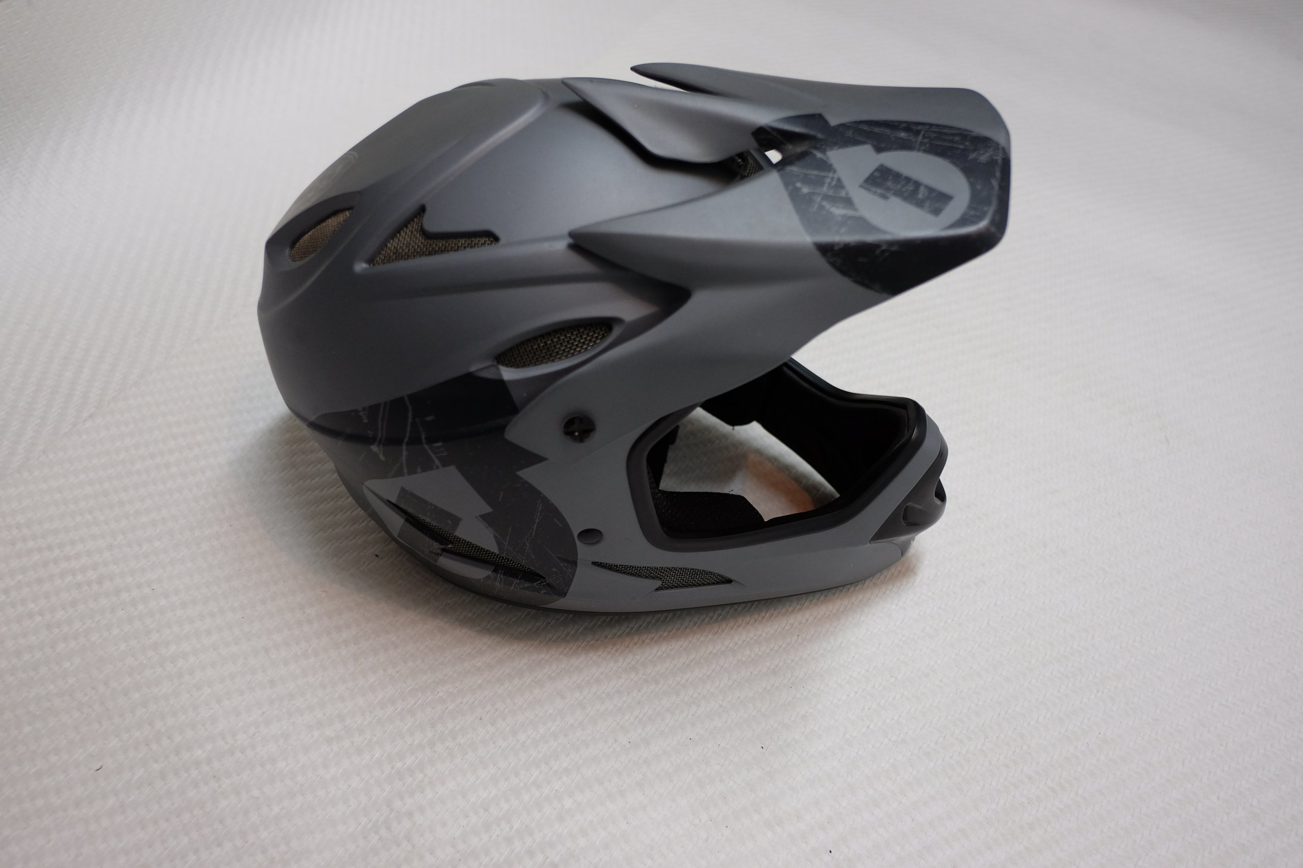 Sixsixone 661 Full Face Resett Black Grey Kask S 7228313486