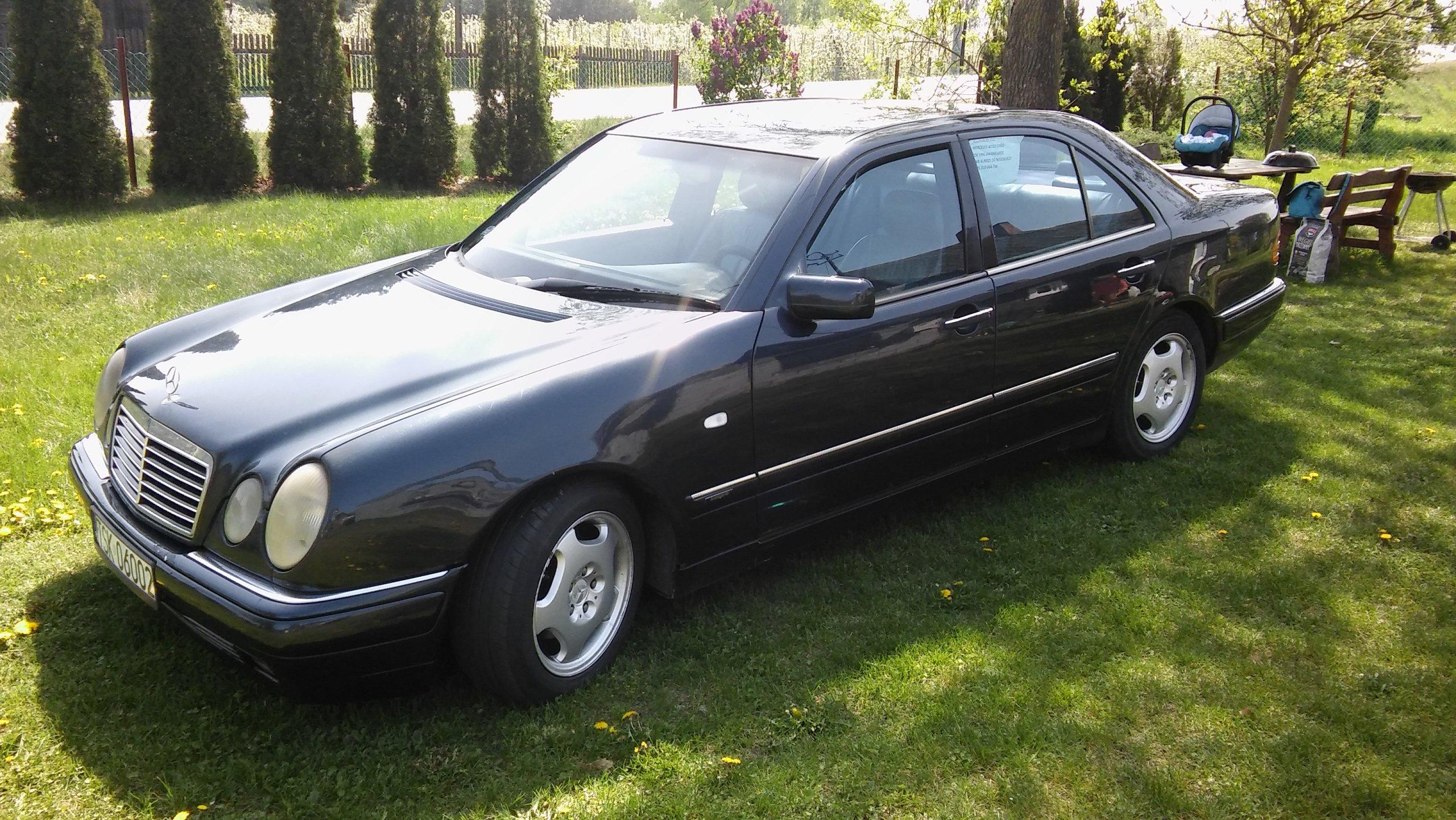 Mercedes w210 3 0D oficjalne archiwum allegro