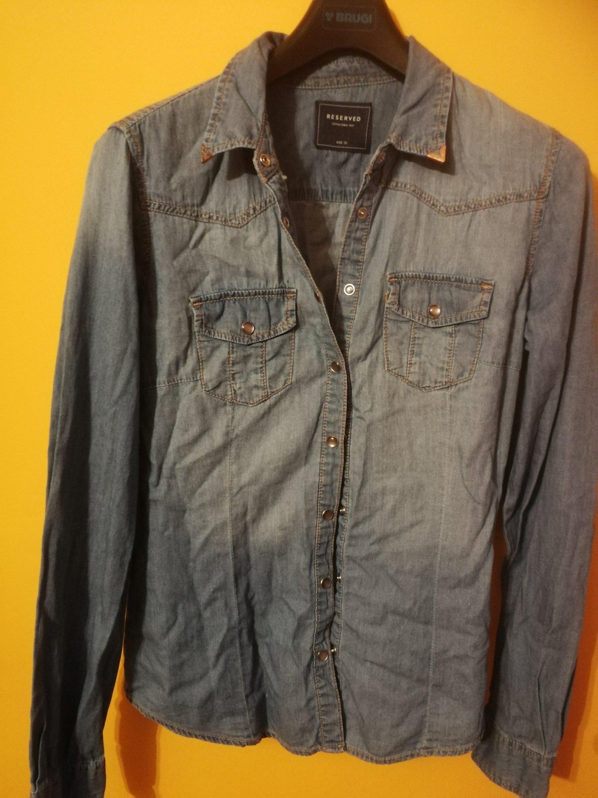 d14e0724 Koszula jeansowa dżinsowa jak NOWA ESMARA 36 S - 7242535571 ...