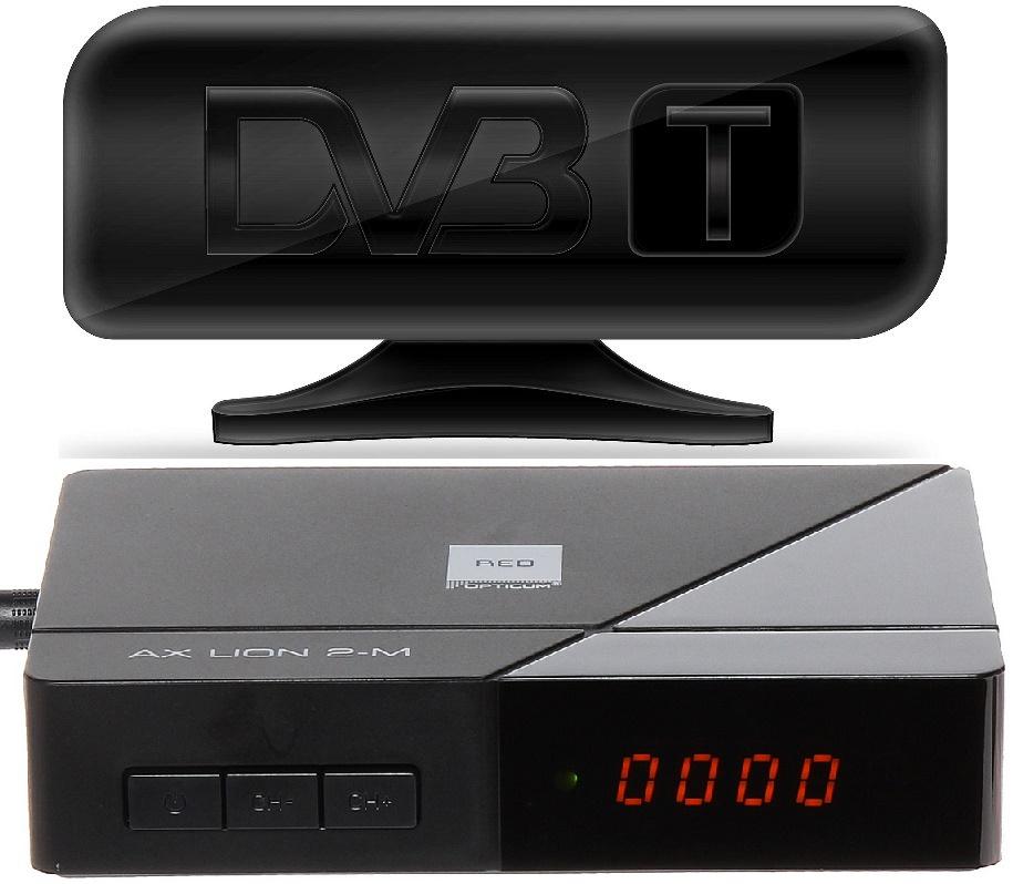 ZESTAW DVB-T ANTENA + DEKODER do telewizji TRWAM !