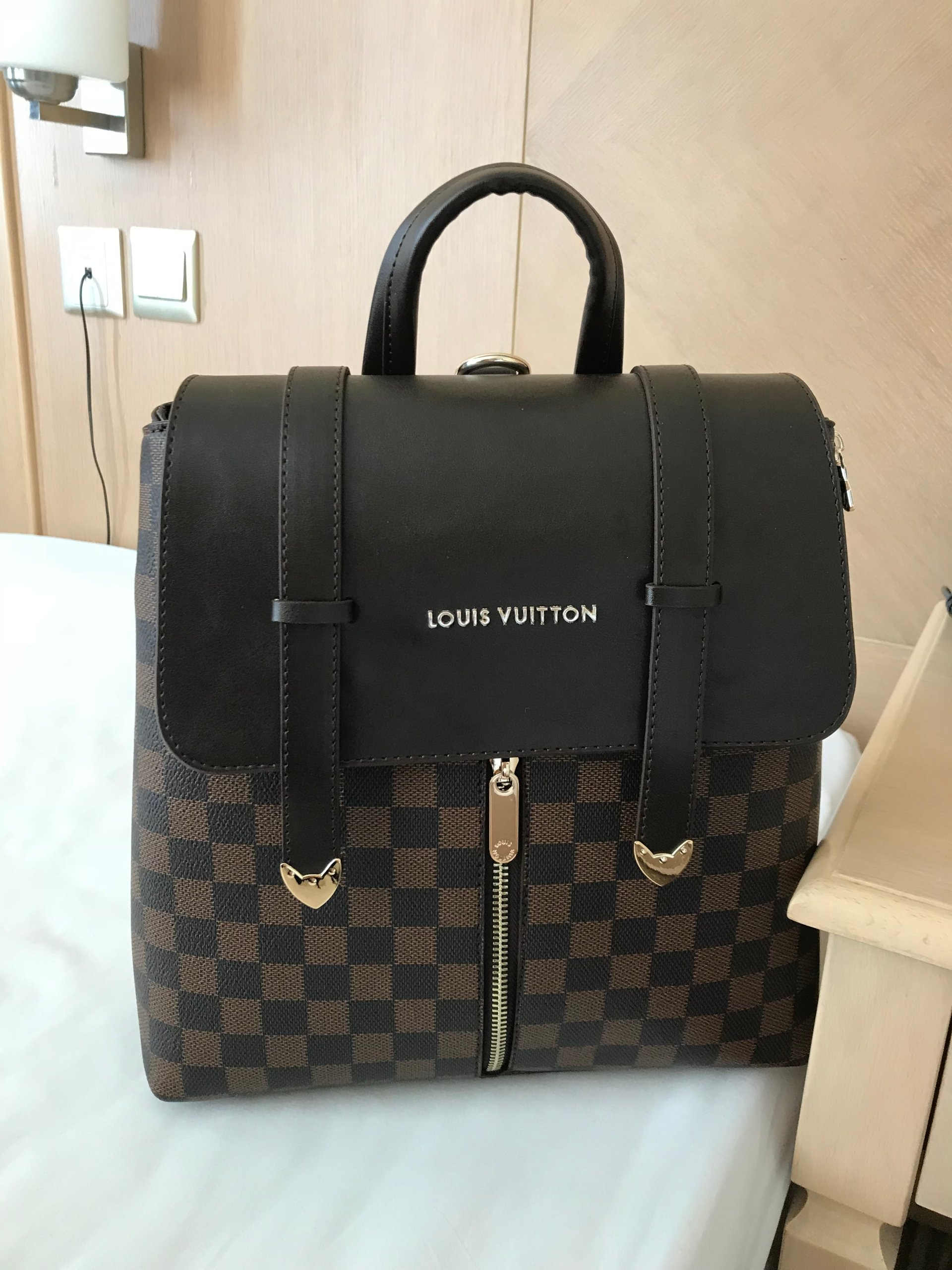 c405b96aceee0 Louis Vuitton Skórzany Plecak 7293425487 Oficjalne Archiwum Allegro
