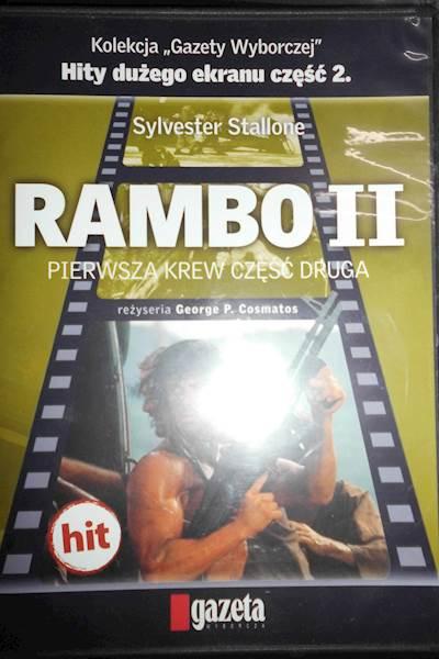 Rambo 2 - DVD pl lektor