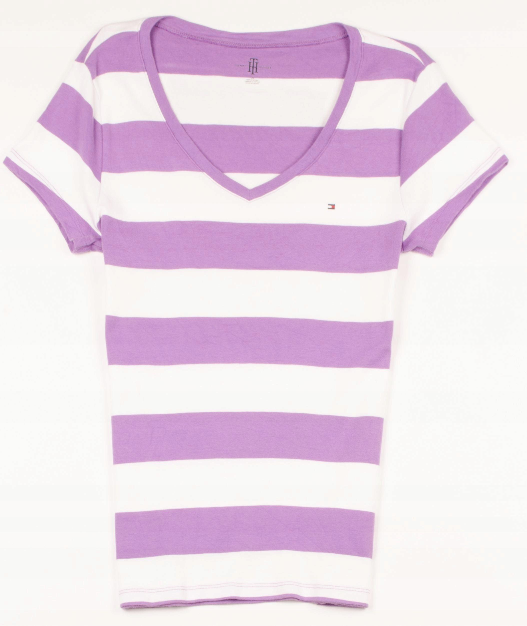 2da6a1f57c392 23953 Tommy Hilfiger T-shirt Damski L - 7568519427 - oficjalne ...