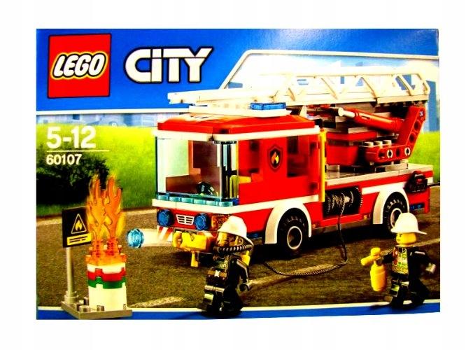 Klocki Lego City Straż Pożarna Auto 2 Figurki Rb 6842899597