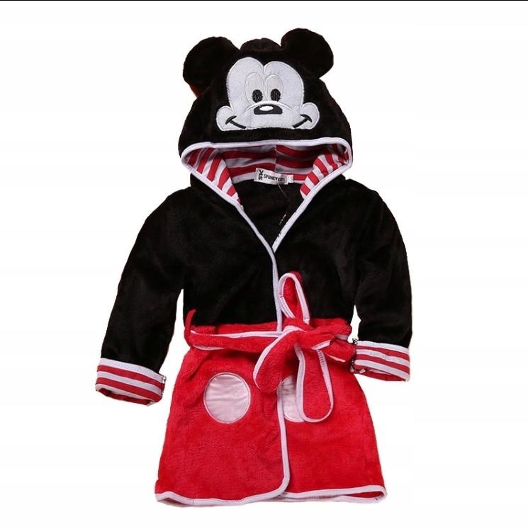 aa4a5e8f1ed911 Szlafrok dziecięcy myszka miki mickey 90 rozmiar - 7685394697 ...