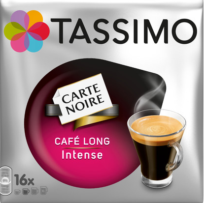 TASSIMO kapsułki Carte Noir CAFE LONG INTENSE
