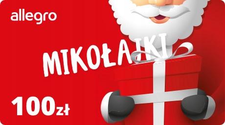 Karta Podarunkowa na Mikołajki - 100 zł