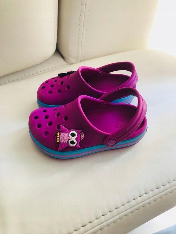 wylot klasyczny styl wykwintny styl Crocs dziewczęce C7 rozmiar 24 - 7513545432 - oficjalne ...
