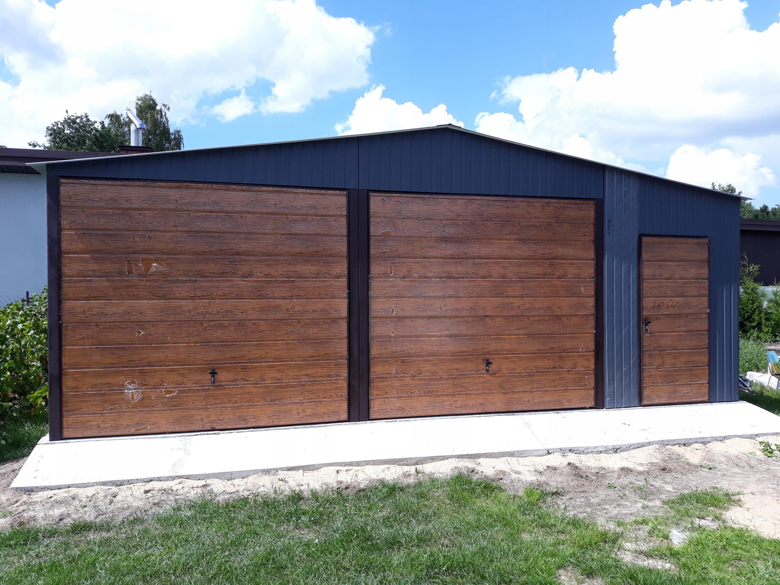 Aktualne garaż blaszany garaz blaszak 8x6 wysoki 250cm 7x7 - 7717283610 WJ53