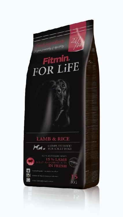 Fitmin for life LAMB  RICE antyalergiczna 15kg