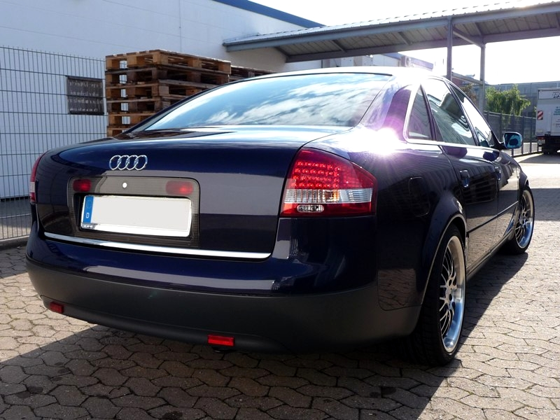 Lampy Tylne Audi A6 C5 Lift Diodowe Led Red White