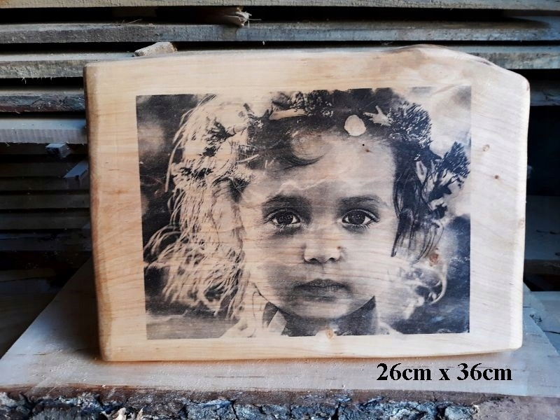 Inteligentny portret zdjęcie na drewnie portrety zdjęcia drewno - 7480782520 UO74