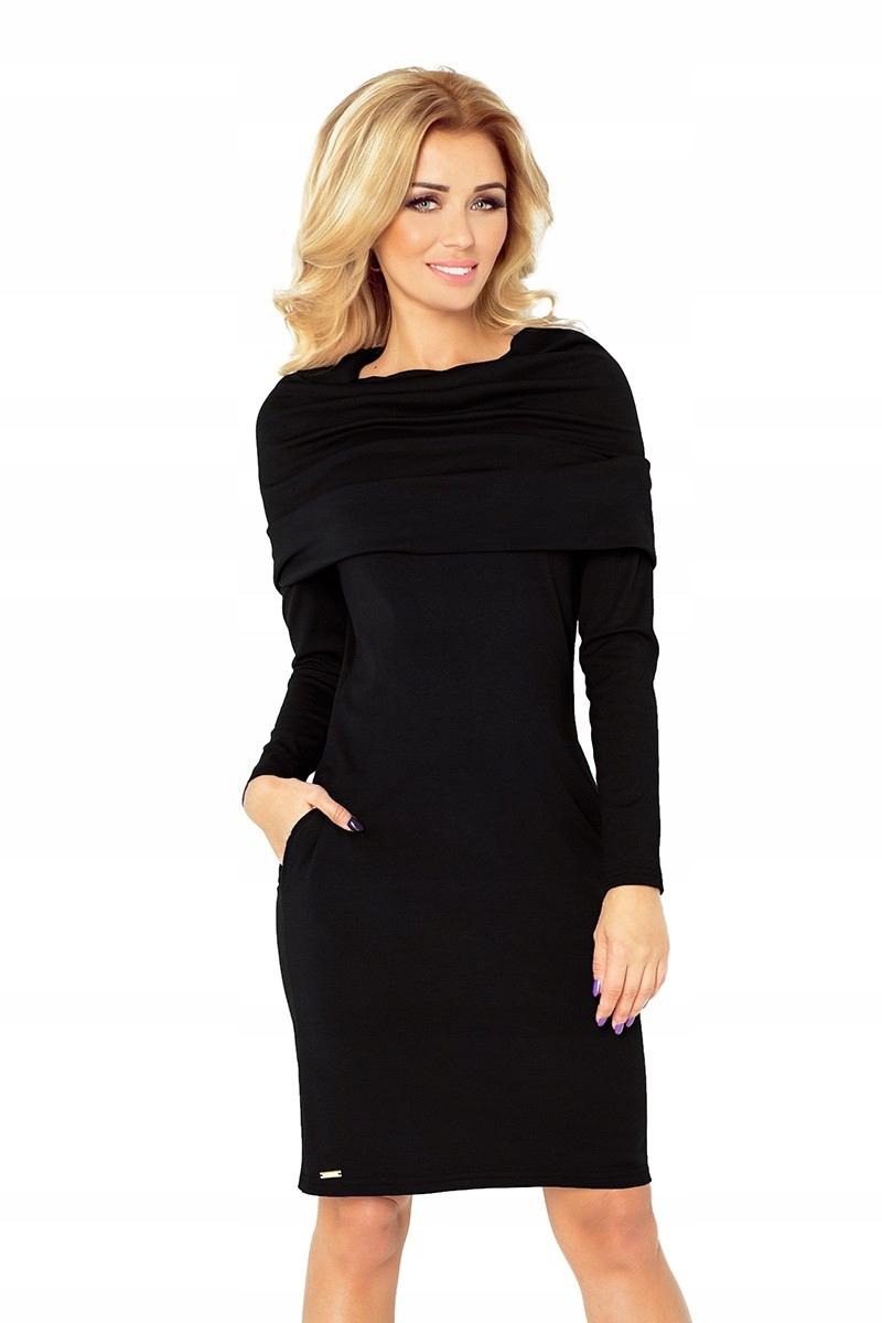 628277523d Sukienka z golfem - Punto - czarna XS - 7101874038 - oficjalne ...