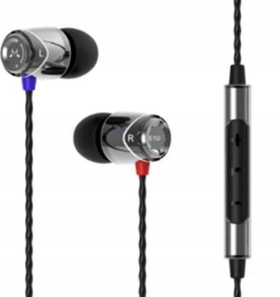 E10C Słuchawki do smartfonów czarne