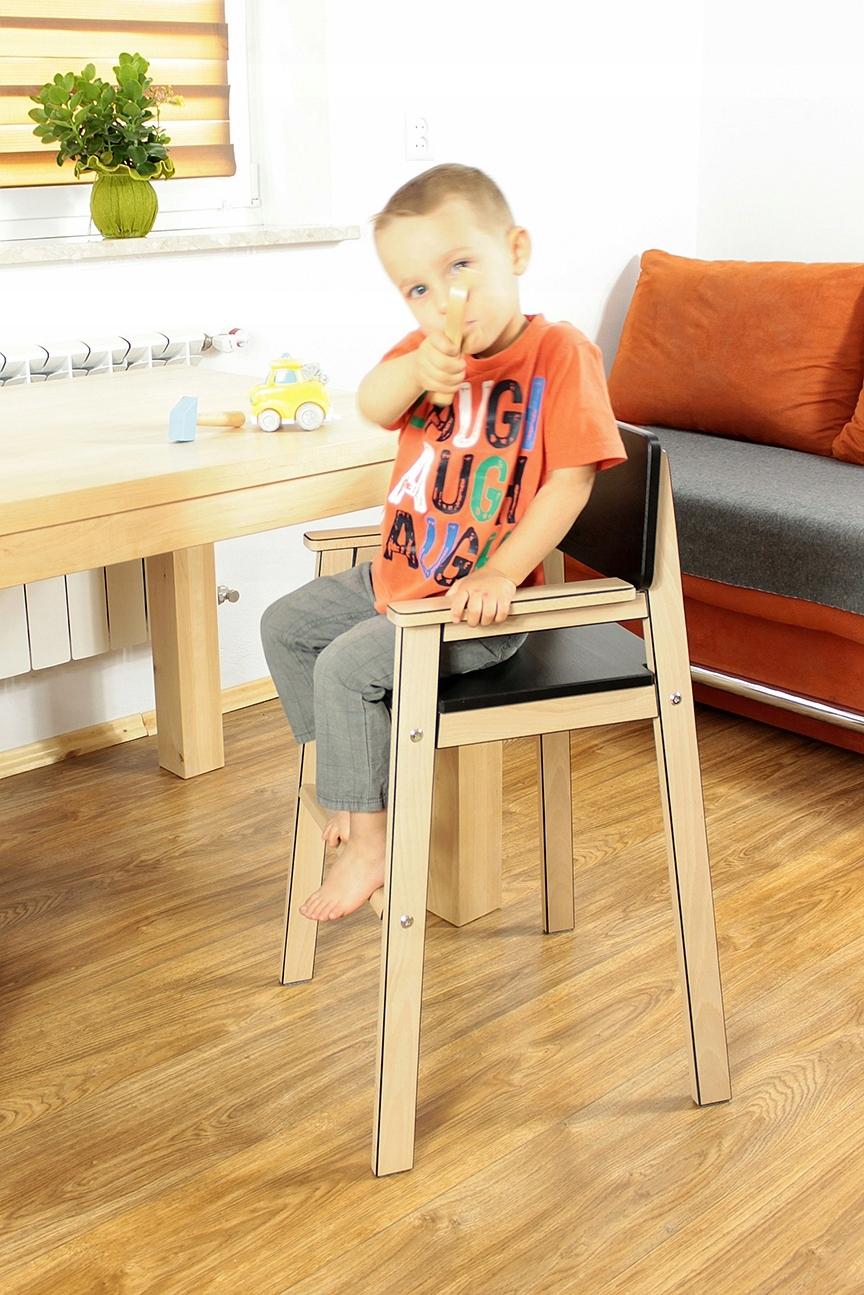 Krzesło Wysokie Dziecięce Dziecka Do Stołu Kuchni
