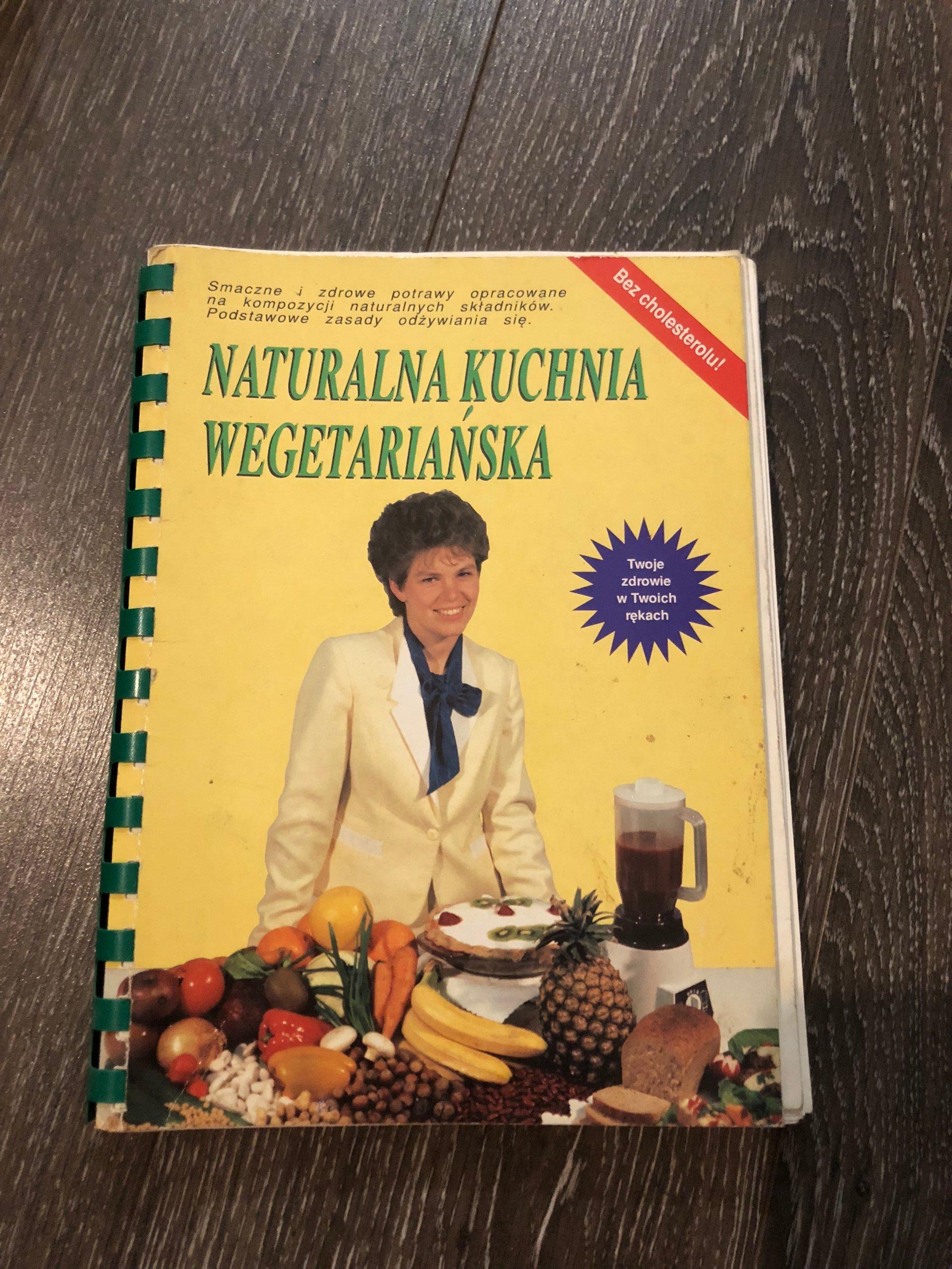Naturalna Kuchnia Wegetarianska 1992 7195538084 Oficjalne