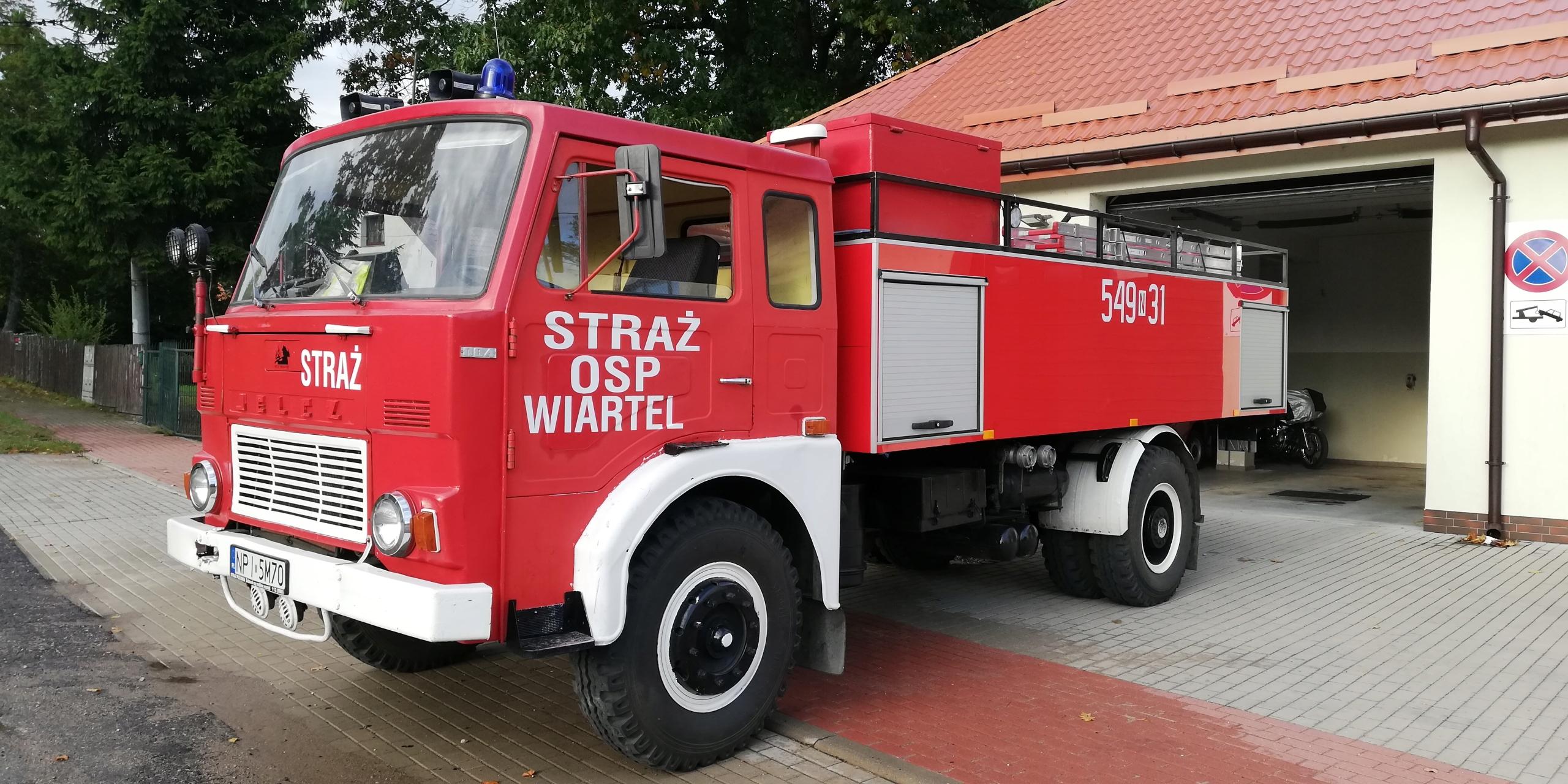 Jelcz pożarniczy strażacki GCBA 6/32