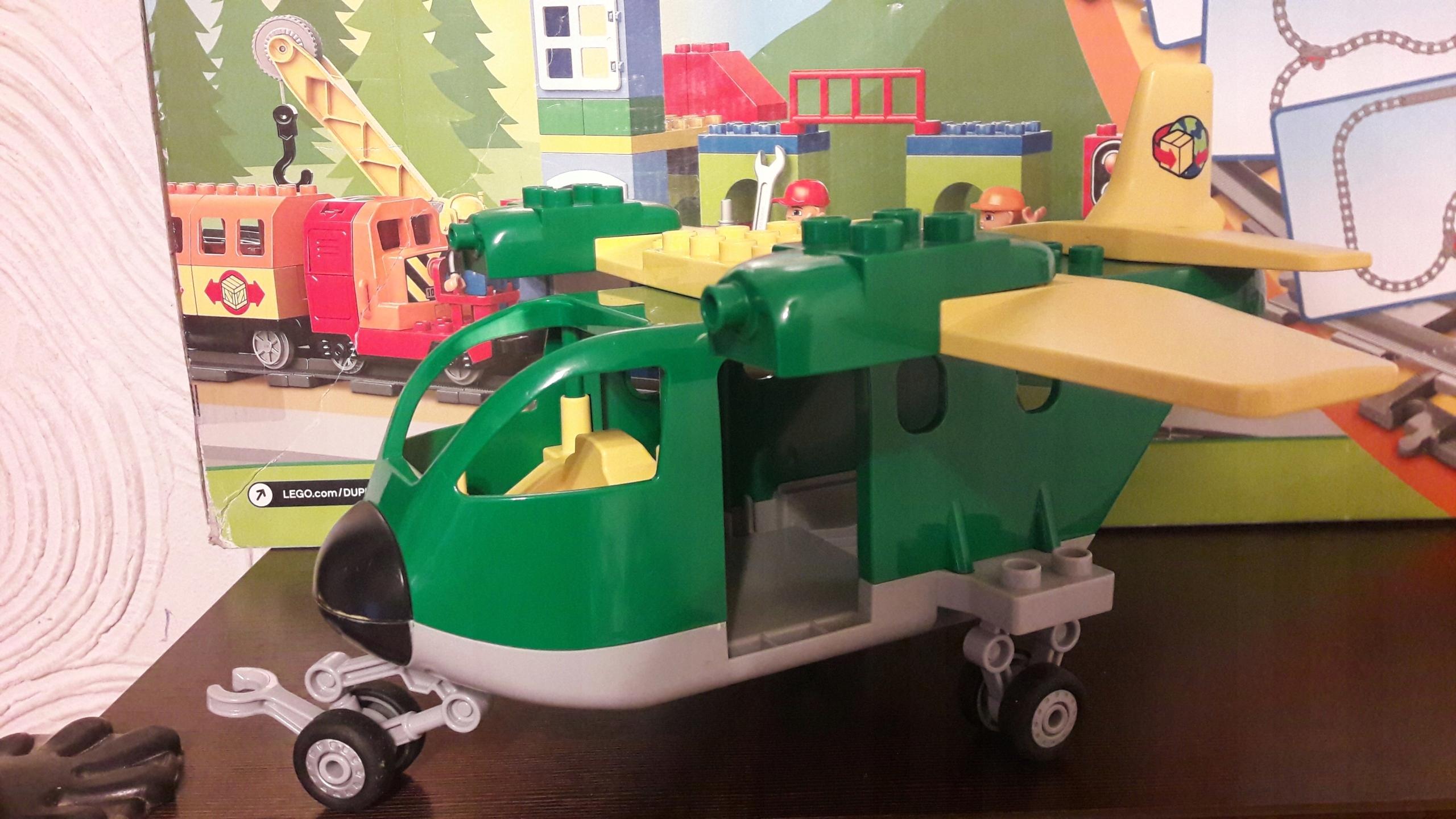 Klocki Lego Duplo Duży Samolot Transportowy 7597277702 Oficjalne