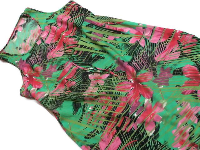 537ebdc217 GEORGE letnia sukienka 46 plażowa liście boho lato - 7289800051 ...