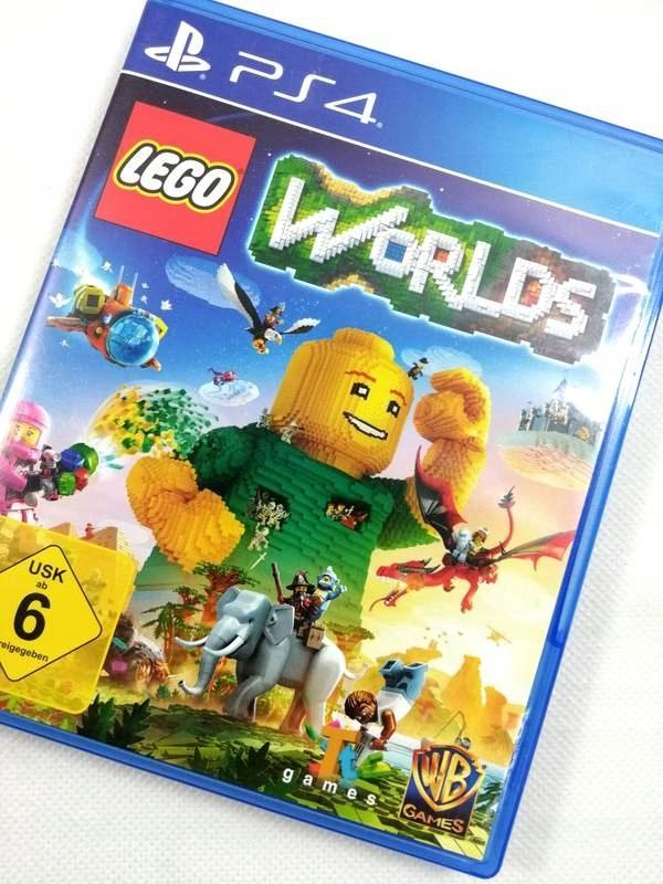 Gra Lego Worlds Na Ps4 7499429260 Oficjalne Archiwum Allegro