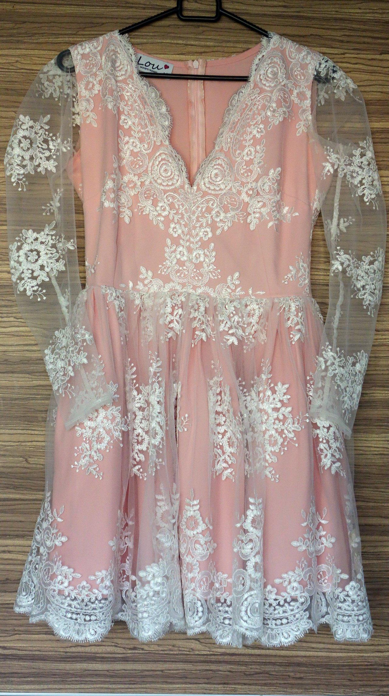 f32d68306b sukienka lou Kraków w Oficjalnym Archiwum Allegro - archiwum ofert