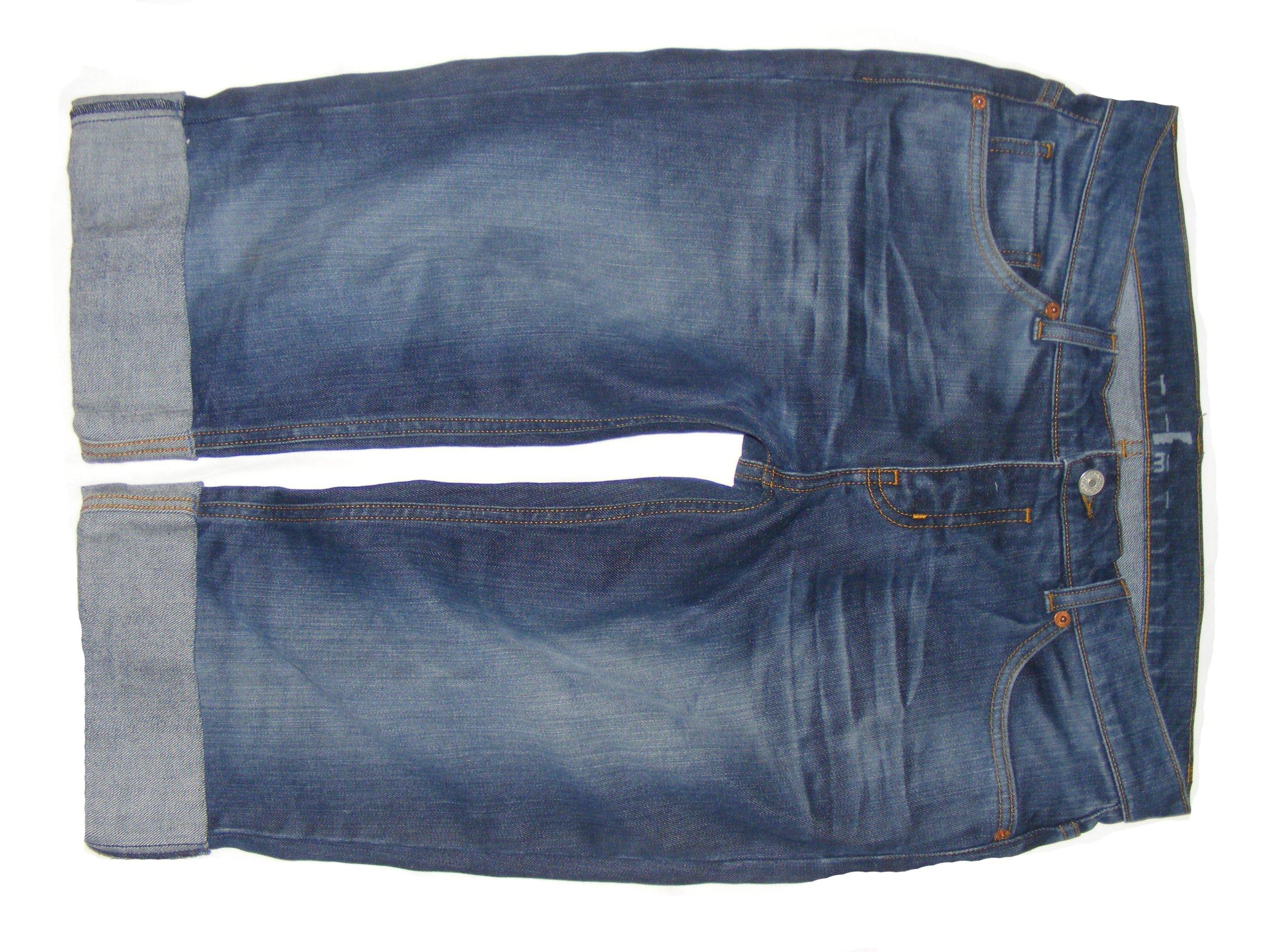 Spodnie damskie jeansy rybaczki UK 14 42 XL