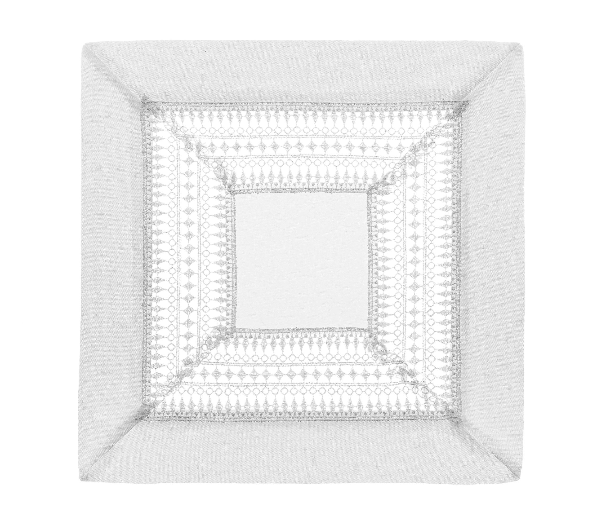 Serweta Serwetka Gipiura kwadrat z Gipiurą 30x30