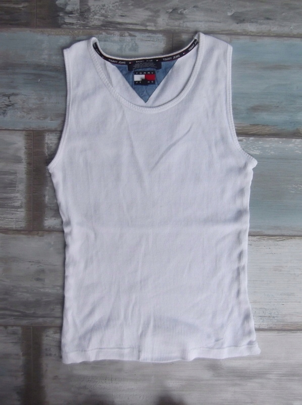TOMMY HILFIGER__koszulka t-shirt męskie BOKSERKA_M