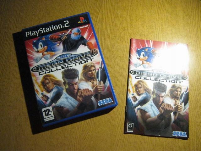 SEGA MEGA DRIVE COLLECTION PlayStation 2 PS2 PAL