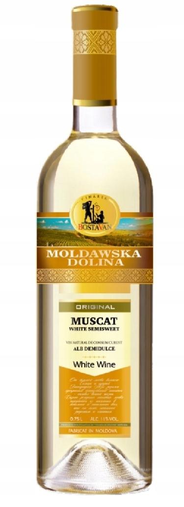Moldawska Dolina Muscat Semi Sweet !