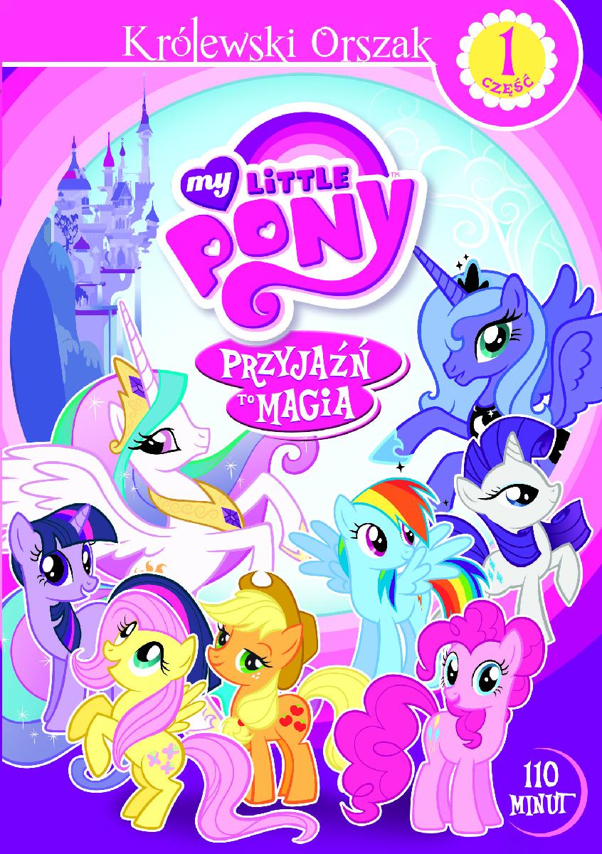 My Little Pony Przyjaźń to magia Część 1 DVD