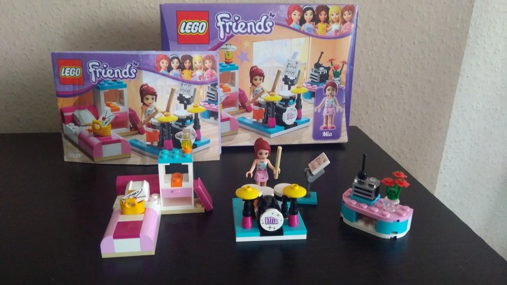 Lego Friends 3939 Pokój Muzyczny Mii 7241914657 Oficjalne
