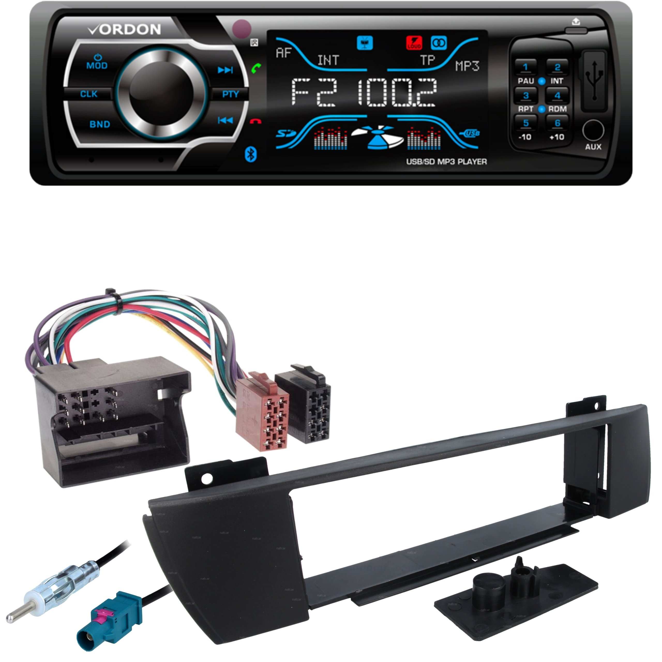 Radio Vordon Bluetooth Usb Bmw X3 E83 2004 2010 6952087793