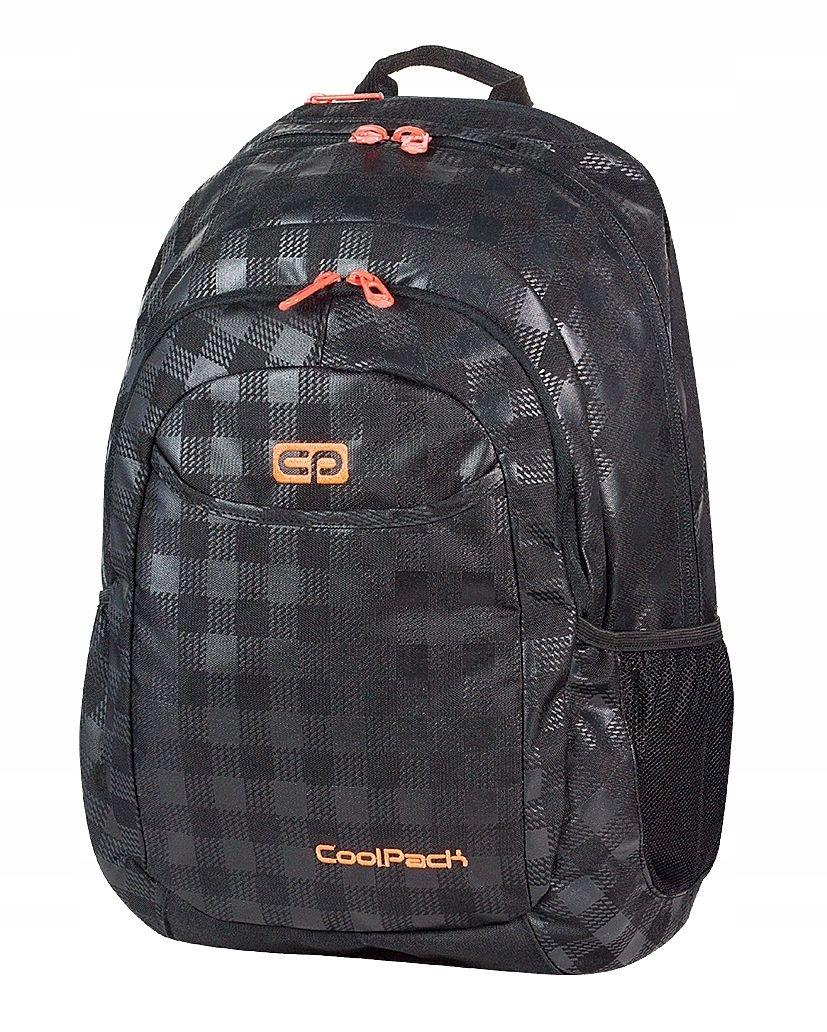 536ded623b34e Plecak szkolny młodzieżowy COOLPACK URBAN BLACK - 7146782503 - oficjalne  archiwum allegro