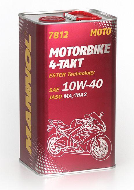 OLEJ MANNOL MOTORBIKE 4-TAKT 10W40 4T ESTER MA2 4L