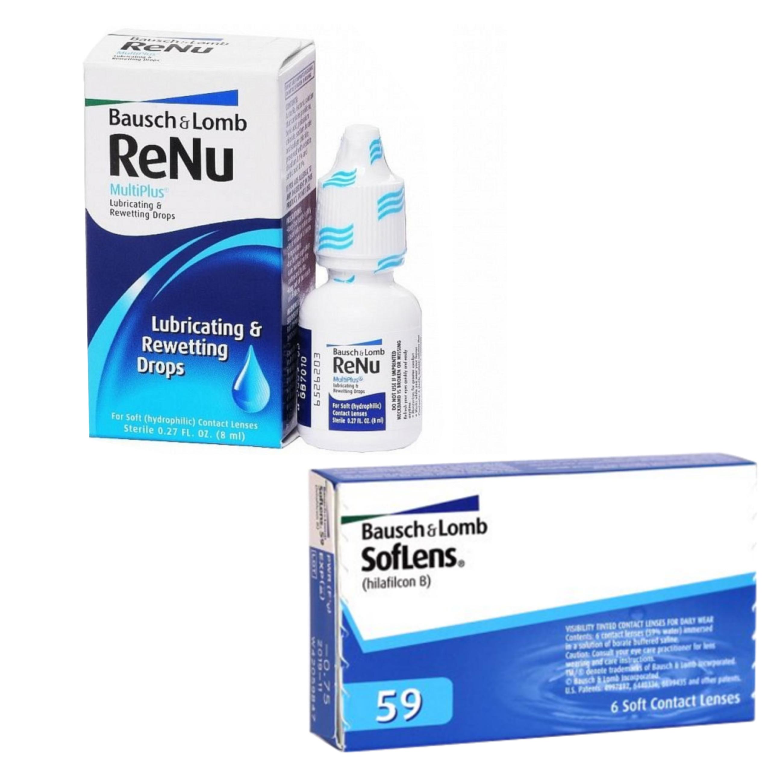 548a89821a4c13 Soflens 59 /Comfort+ReNu Multidrops 8ml 20% TANIEJ - 7419942545 ...