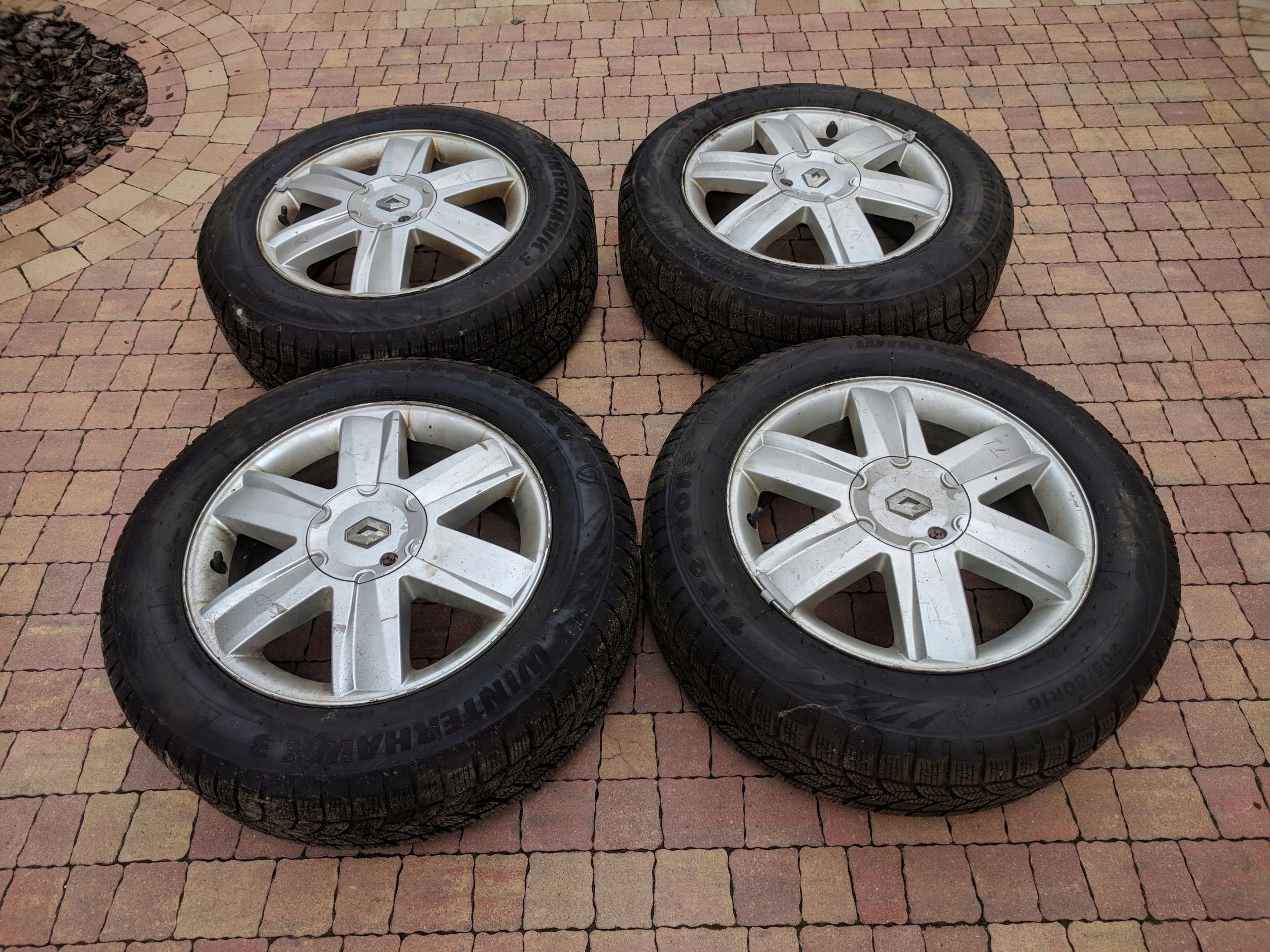 Alufelgi Renault Ii Scenic 16 4x100 Opony Zimowe 7580257217