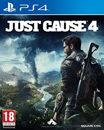 JUST CAUSE 4 PL PS4 NOWA