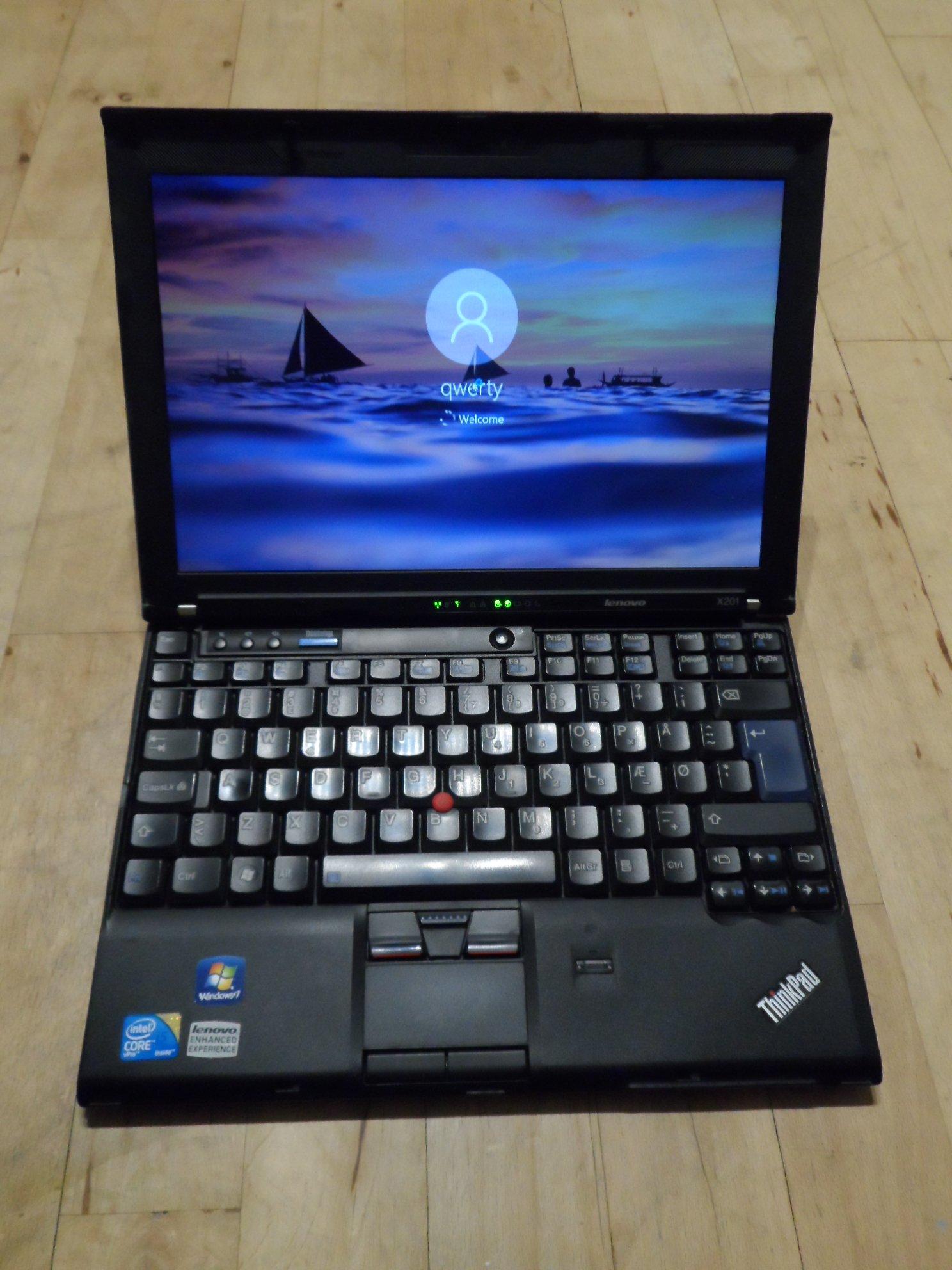 Lenovo ThinkPad X201 typ 3680