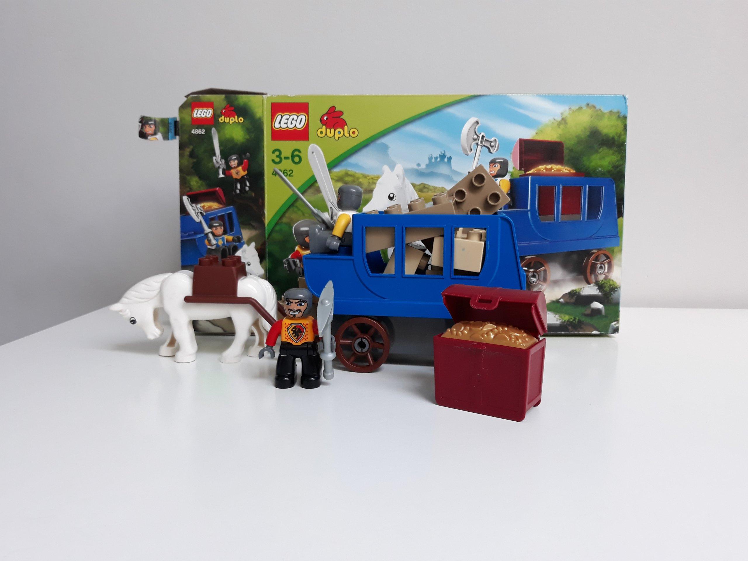 Zestawy Lego Duplo Z Pudełkiem 4862 Rycerze 7403575614 Oficjalne