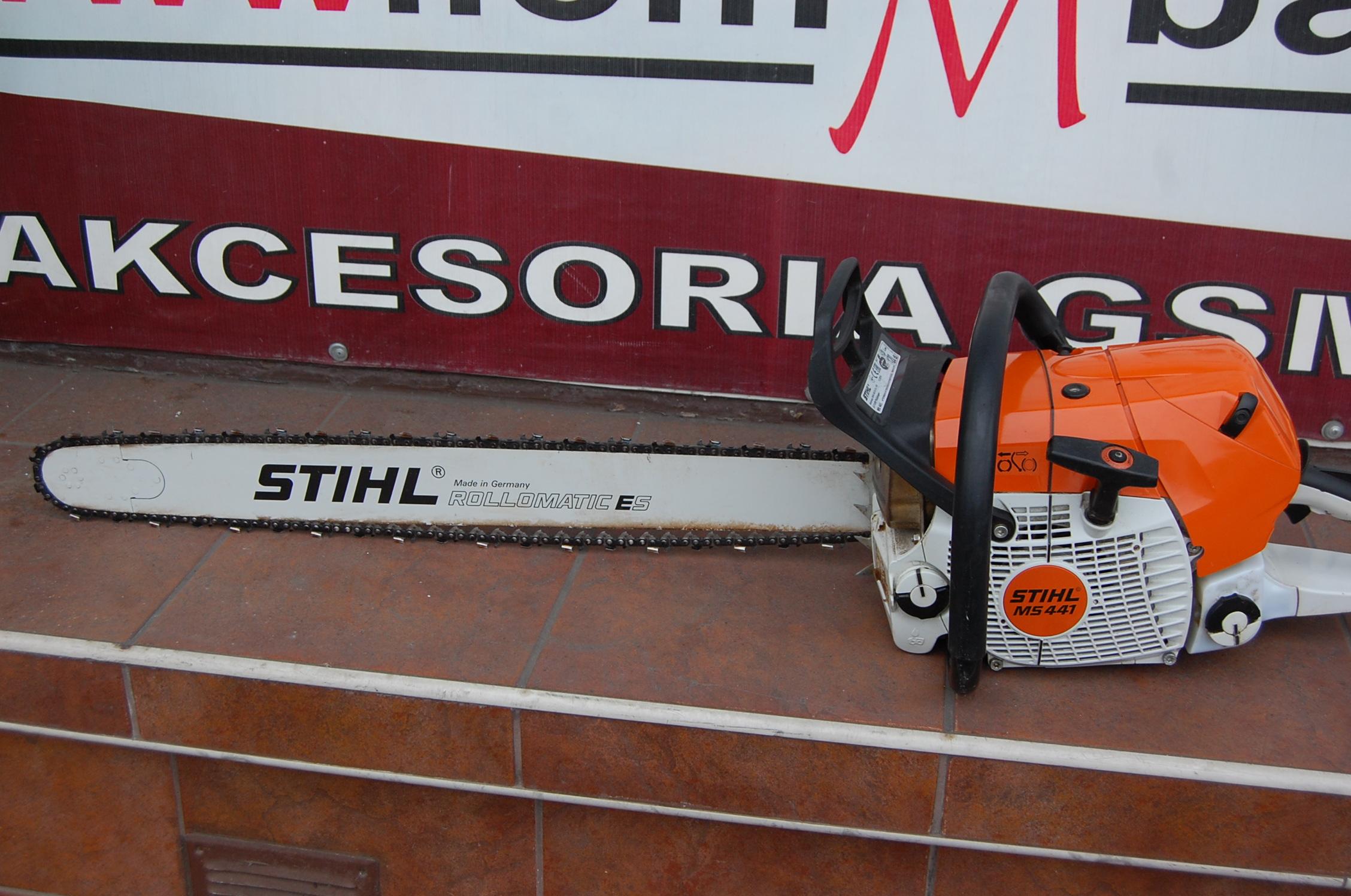 piła spalinowa stihl ms 441 5,7 km grudzień 2015