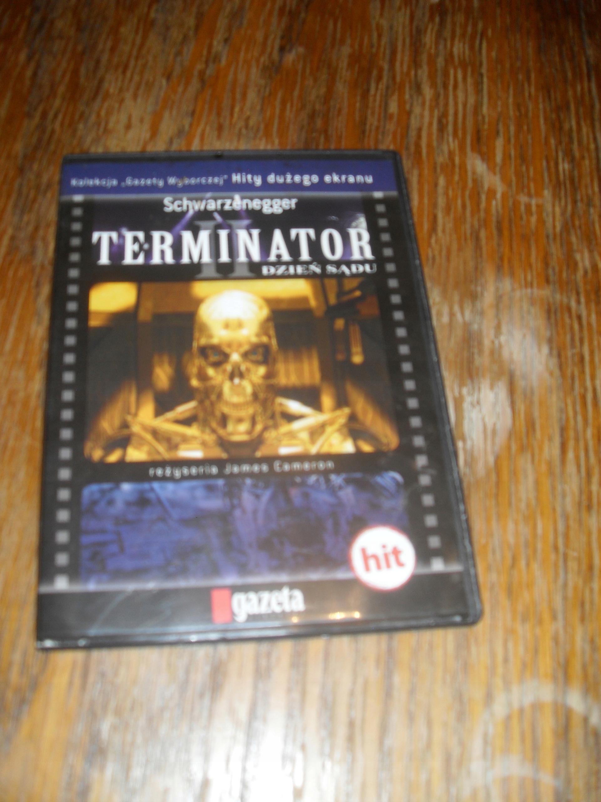 Terminator II dzień sądu dvd