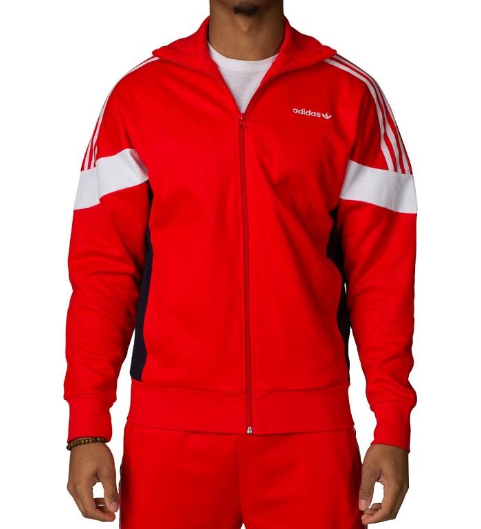Adidas bluza dresowa Challenger czerwona BK5913 XL